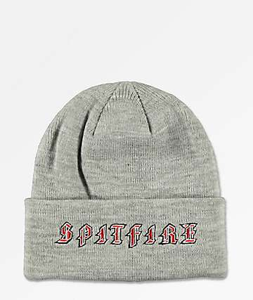 Spitfire Old E Grey Beanie