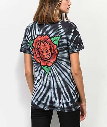 Spitfire Perennial Black Tie Dye T-Shirt