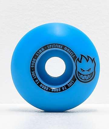 Spitfire Scorchers Blue & Black 53mm 99a Skateboard Wheels