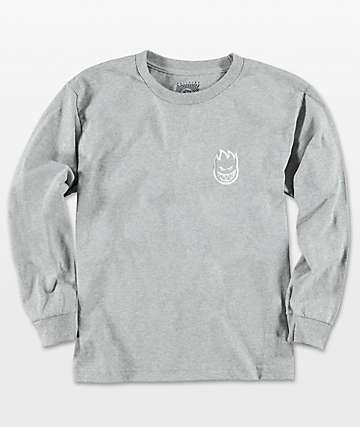 Spitfire Steady Rockin Grey Long Sleeve T-Shirt