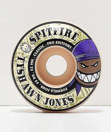 Spitfire Tyshawn Pro Formula Four Classic 52mm 99a Skateboard Wheels