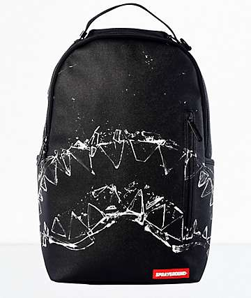 Sprayground Broken Glass Backpack