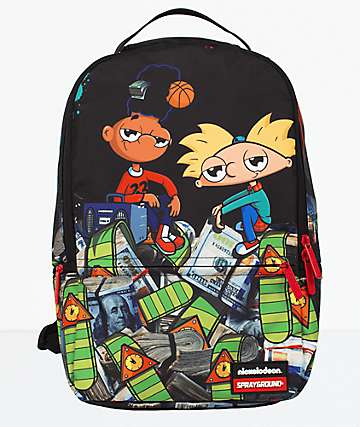 Sprayground Hey Arnold Money Stacks Backpack
