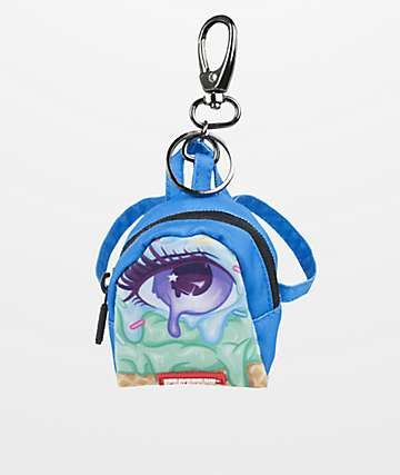 Sprayground Left Eyescream Mini Backpack Keychain
