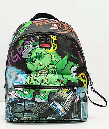 Sprayground Money Bear Stacks Backpack