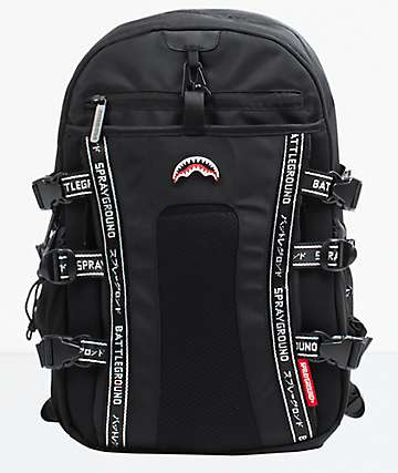 Sprayground Nomad Black Backpack