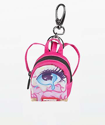 Sprayground Right Eyescream Keychain