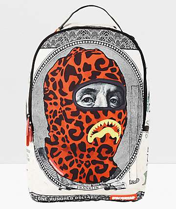 Sprayground Ski Mask Hunnid Backpack