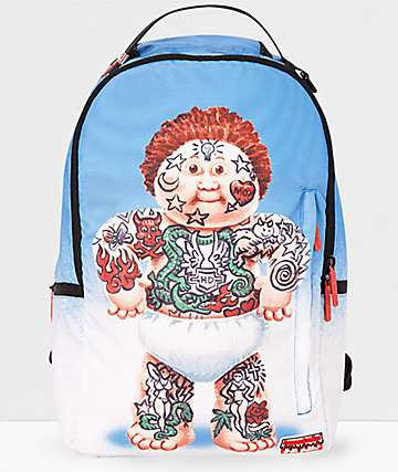 Sprayground x Garbage Pail Kids Tattoo Lou Backpack
