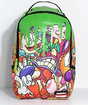 Sprayground x Nickelodeon 90s Slime Backpack
