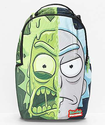 Sprayground x Rick & Morty Toxic Rick Backpack