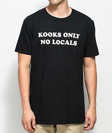 Spring Break Kooks Only camiseta negra