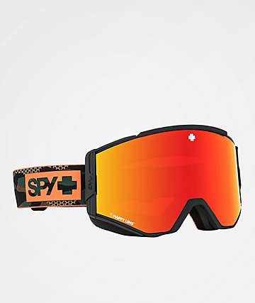 Spy Ace Camo & Red Spectra Snowboard Goggles