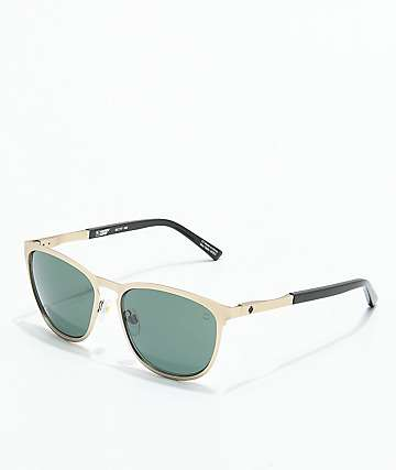 Spy Cliffside Matte Gold & Black Gloss Sunglasses