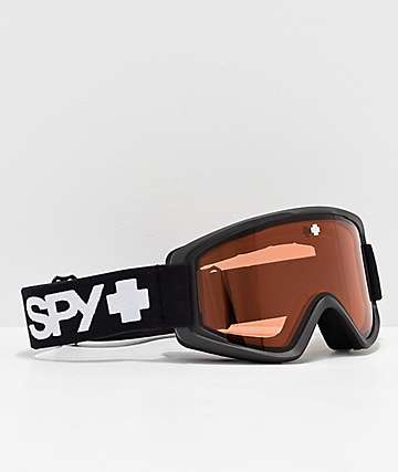 Spy Crusher Junior Matte Black Snowboard Goggles