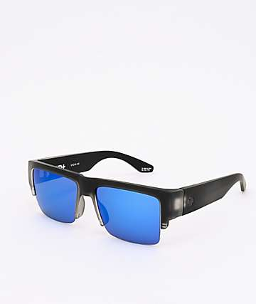 Spy Cyrus 5050 Matte Black Ice HD+ Sunglasses