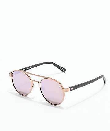Spy Deco gafas de sol en color oro rosa y negro mate
