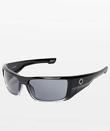 Spy Dirk Black Fade & Grey Sunglasses