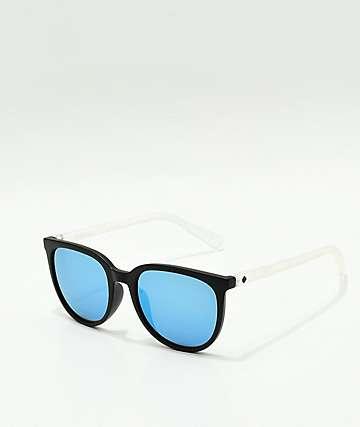 Spy Fizz Spectra gafas de sol en negro mate y azul claro