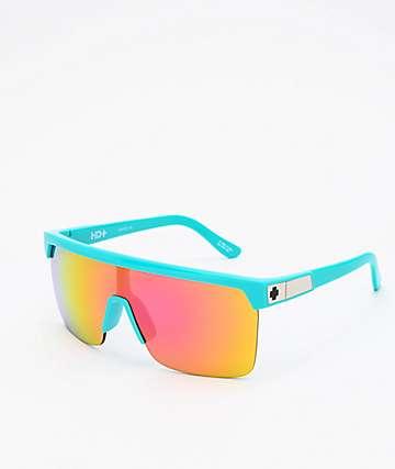 Spy Flynn 5050 HD Plus Teal & Pink Sunglasses