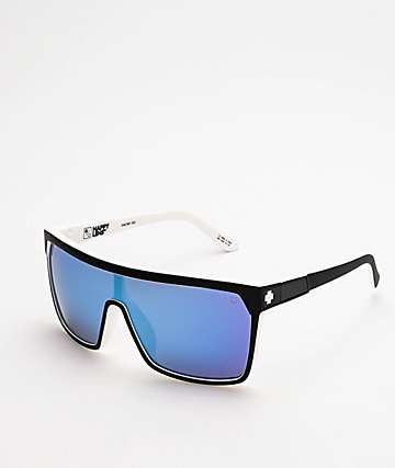 Spy Flynn Whitewall, Grey & Blue Happy Lens Sunglasses