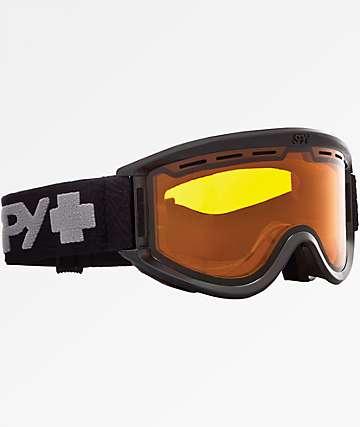 Spy Getaway Black & Persimmon Snowboard Goggles