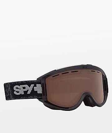 Spy Getaway Matte Black Bronze Snowboard Goggles