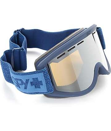 Spy Getaway máscara de snowboard en azul marino