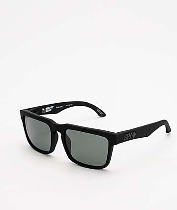 Spy Helm Happy Grey Green Polarized Sunglasses