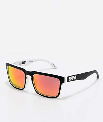 Spy Helm Whitewall Red Spectra Sunglasses