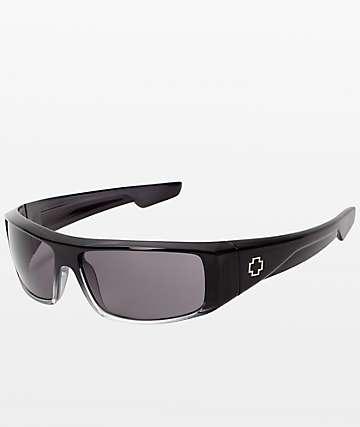 Spy Logan gafas de sol desteñidas en negro a gris