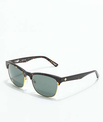 Spy Loma Dark Tortoise & Matte Gold Sunglasses
