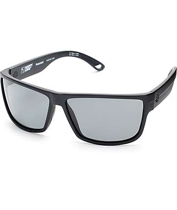 38c7d39d9c Spy Rocky Matte Black Happy Lens Polarized Sunglasses