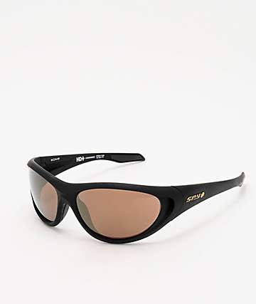 Spy Scoop 2 25th Anniversary Black & Gold Sunglasses