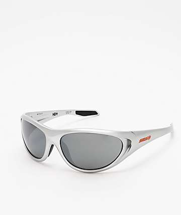 Spy Scoop 2 Metallic Chrome HD+ Lens Sunglasses