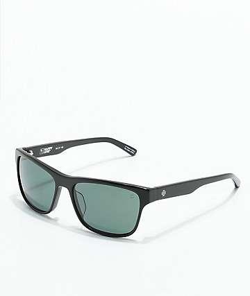 Spy Walden gafas de sol en negro brillante