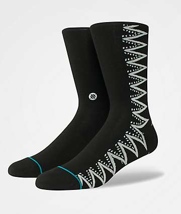 Stance Ash Black Crew Socks