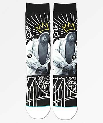Stance B.I.G. Black Crew Socks