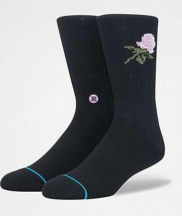 Stance Bachelor Black Crew Socks