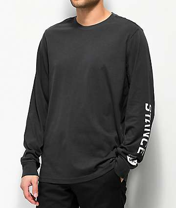 Stance Basic Black Long Sleeve T-Shirt