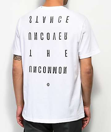 Stance Bends White T-Shirt