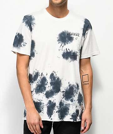 Stance Black Tie Dye Pocket T-Shirt