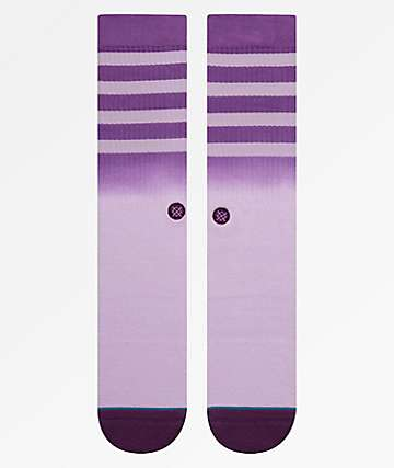 Stance Bobby 2 Purple Crew Socks