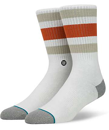 Stance Boyd 3 Natural Crew Socks