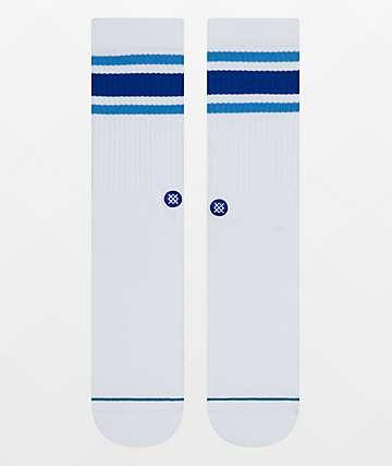 Stance Boyd 4 Cobalt Blue Crew Socks