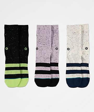 Stance Boys 3 Pack Vibe Crew Socks