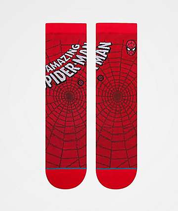 Stance Boys Amazing Spiderman Crew Socks