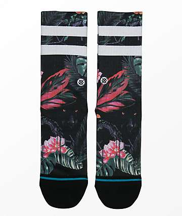 Stance Boys Bagheera Black Crew Socks