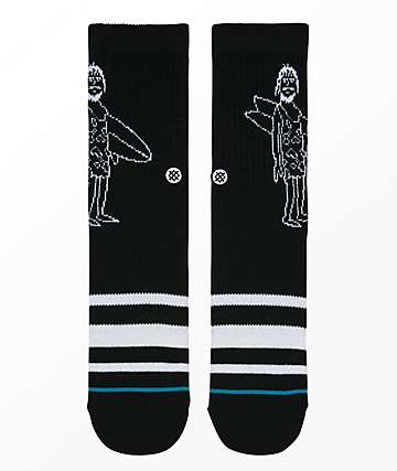 Stance Boys Manmade Black Crew Socks
