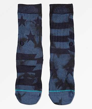 Stance Boys Side Reel Blue Crew Socks